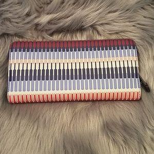 Ralph Lauren leather continental wallet